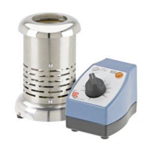 Elektrischer Bunsenbrenner mit Controller