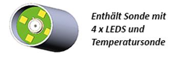 4 LED Sonde